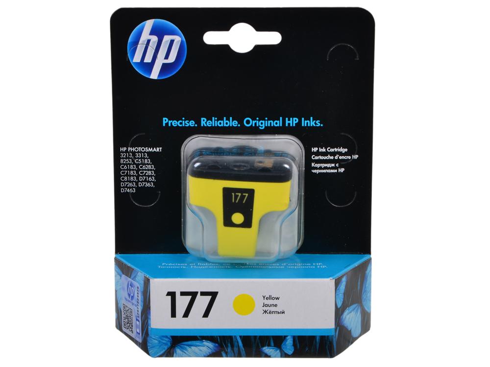 Картридж HP C8773HE (№177) желтый PSM8253 картридж hp c8721he 177 черный psm8253