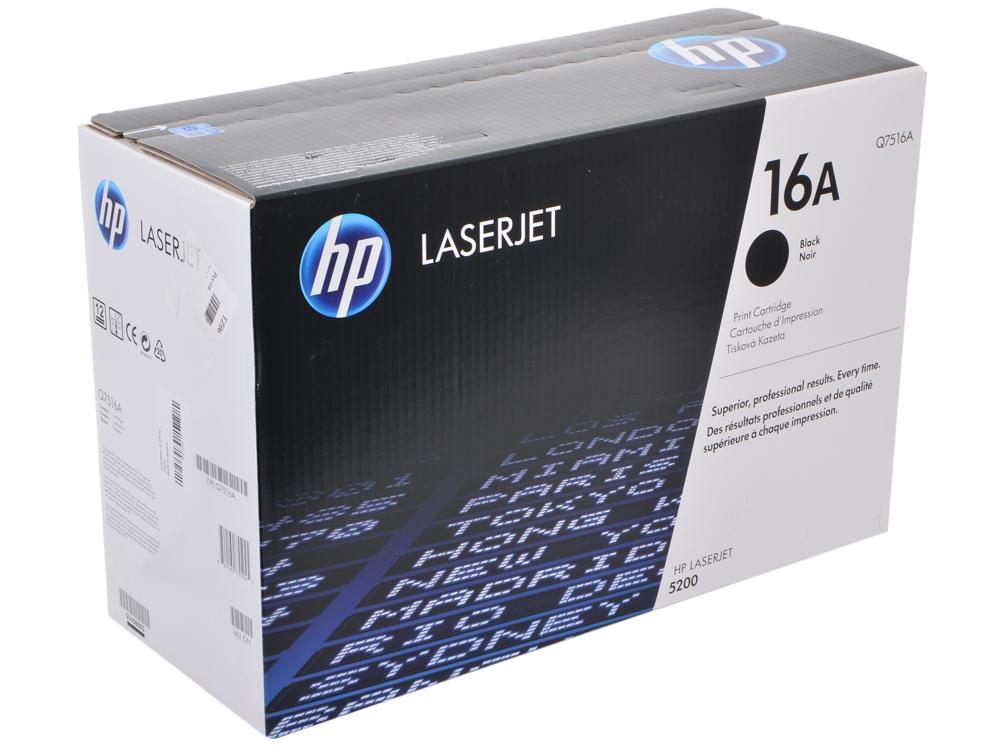 Картридж HP Q7516A (LJ5200) картридж hp q7516a для lj 5200 12000стр