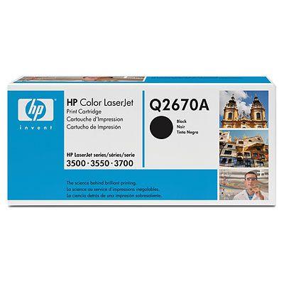 Картридж HP Q2670A (Color LaserJet 3500\3700) Черный картридж q2670a black