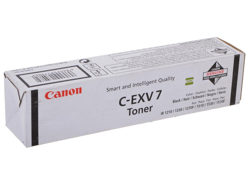 Фото - Тонер-картридж Canon C-EXV7 для iR1210/ 1230. Чёрный. 5300 страниц. фотобарабан canon c exv7 7815a003 для ir1210 1230 1270f 1510 1530 черный 20000стр