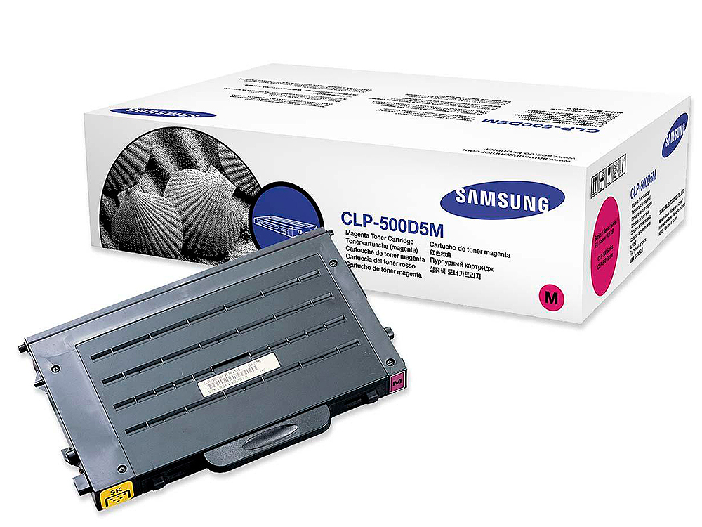 Картридж Samsung CLP-500D5M chip clp 500 550 for samsung clp 500dcartridge reset chip