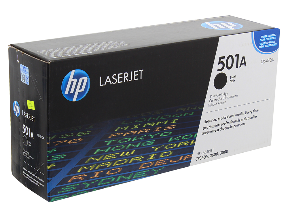 Картридж HP-Q6470A LaserJet 3600\3800 Черный remanufactured replacement for hp 503a toner cartridge set 2black q6470a for hp color laserjet 3600 3600dn 3800 3800dn 3800n