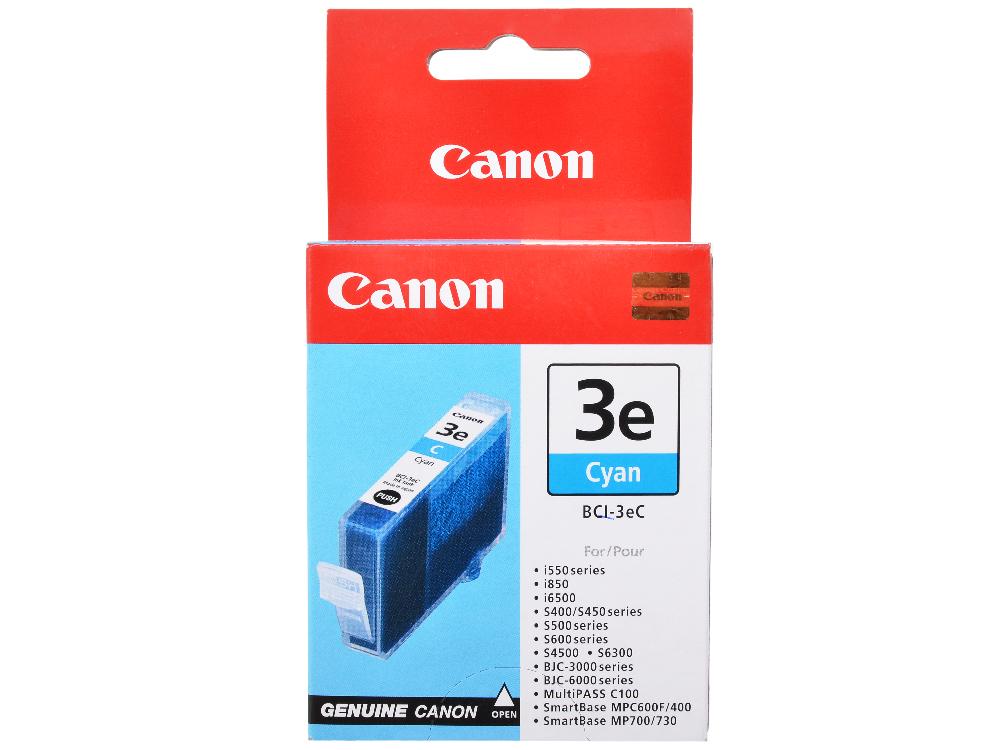Чернильница Canon BCI-3C для BJС-3000/6000/6100/6200/6500//S400/450/4500. Голубая. 280 страниц. картридж canon bci 3epm для bjc 3000 s400 6000 6100 6200 6200s светло пурпурный