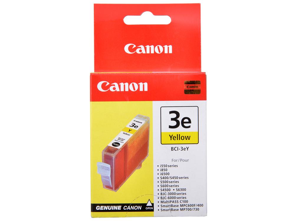 Чернильница Canon BCI-3Y для BJС-3000/6000/6100/6200/6500//S400/450/4500. Желтая. 280 страниц. картридж струйный lomond canon bci 3ey для canon bc 31 bc 33 s600 yellow