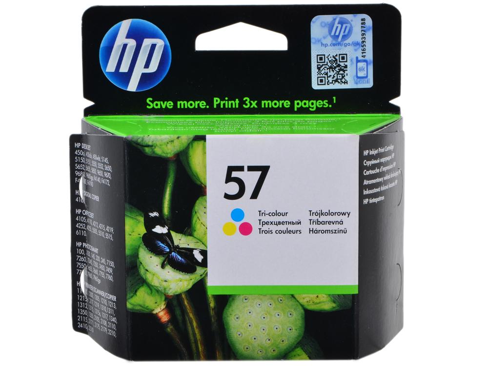 Картридж HP C6657AE (№57) цветной DJ450C/5550 картридж hp c6657ae 57 color для photosmart 7150 7350 7550 5652 7660 7760 7960 и dj 450с 5550