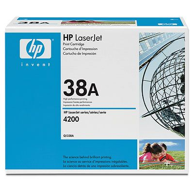 Картридж HP Q1338A для LJ 4200. Черный. 12000 страниц. картридж hp q1338a для hp laserjet 4200 q1338a