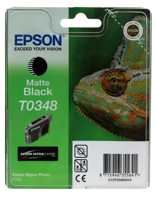 Картридж Epson Original Т034840 /для Stylus Photo 2100/ картридж epson t009402 для epson st photo 900 1270 1290 color 2 pack
