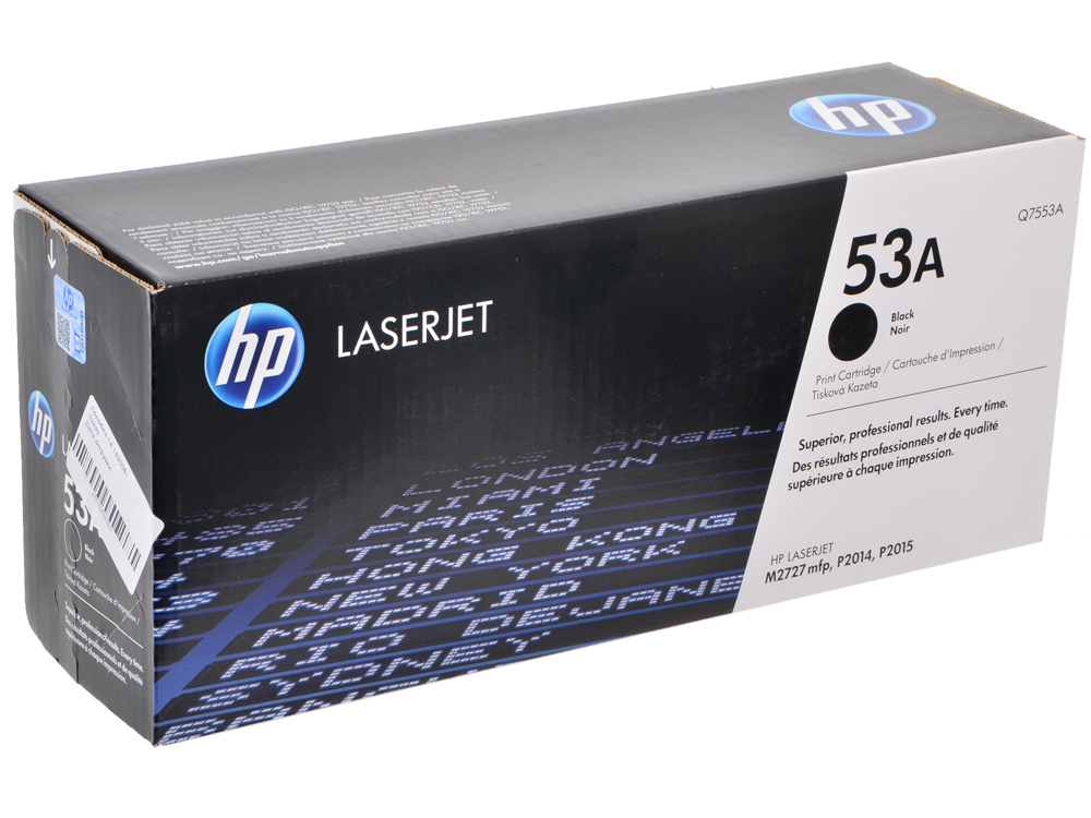 Картридж HP Q7553A (LJ P2015) картридж hp pigment ink cartridge 70 black z2100 3100 3200 c9449a