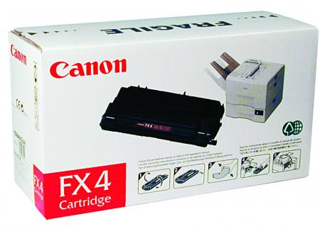 Картридж Canon FX-4 для L800. Чёрный. 4000 страниц. картридж canon fx 4 для fax l800 900