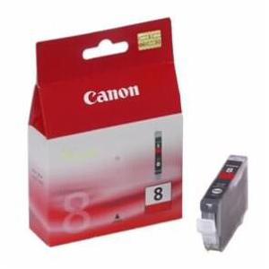 Чернильница Canon CLI-8R для PIXMA Pro9000. Красный. 5700 страниц. картридж t2 ic ccli 8c для canon pixma ip4200 4300 5200 pro9000 mp500 600 голубой