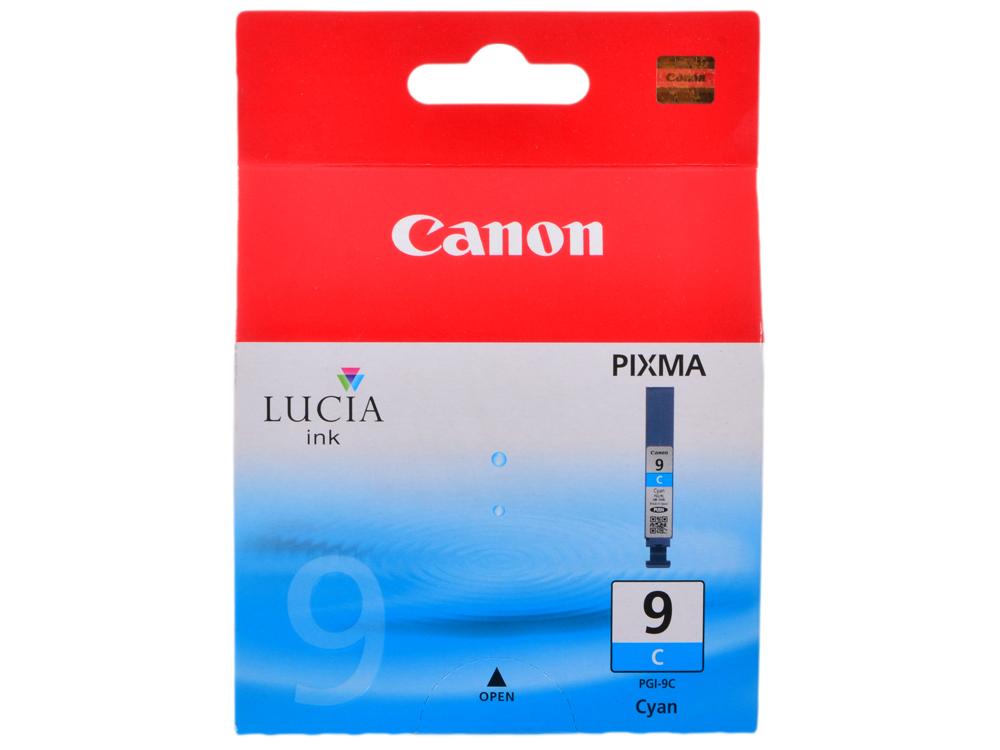 Картридж Canon PGI-9C для PIXMA Pro9500. Голубой. 2265 страниц. чернильный картридж canon pgi 29pm