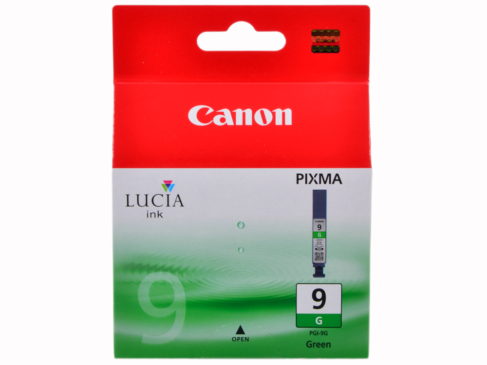 Картридж Canon PGI-9G зеленый (green) 1800 стр. для Canon Pixma Pro9500 / Pro9500 Mark II / iX7000 / MX7600 canon x mark i card white