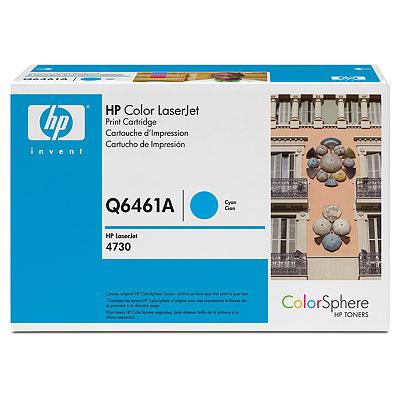 Картридж HP Q6461A для Color LaserJet 4730 MFP. Голубой. 12000 страниц. картридж t2 tc c729m для canon i sensys lbp7010c 7018c hp laserjet pro cp1025 1025nw pro 100 mfp пурпурный