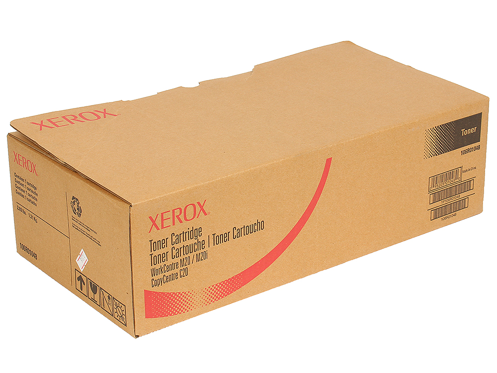 Картридж Xerox 106R01048 для WC M20/20i. Чёрный. 8000 страниц. картридж xerox 106r01048 для xerox workcentre m20 m20i черный 8000стр