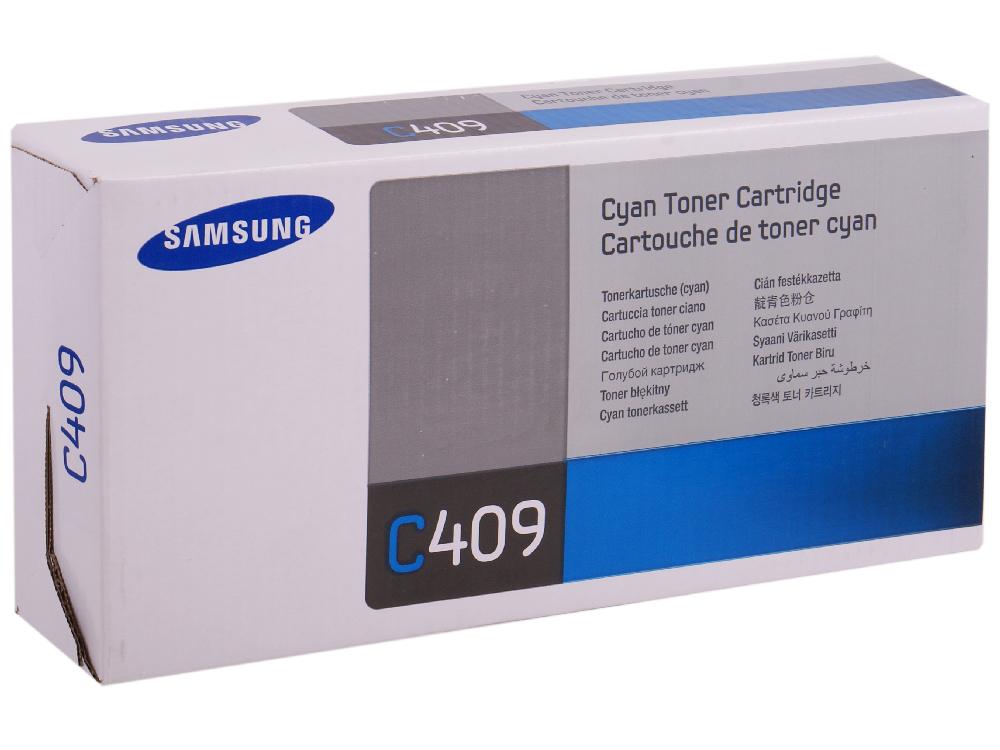 Картридж Samsung CLT-C409S/SEE картридж samsung clt c504s see голубой