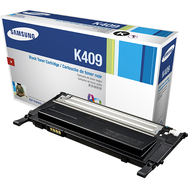 Картридж Samsung CLT-K409S/SEE картридж samsung clt c504s see голубой