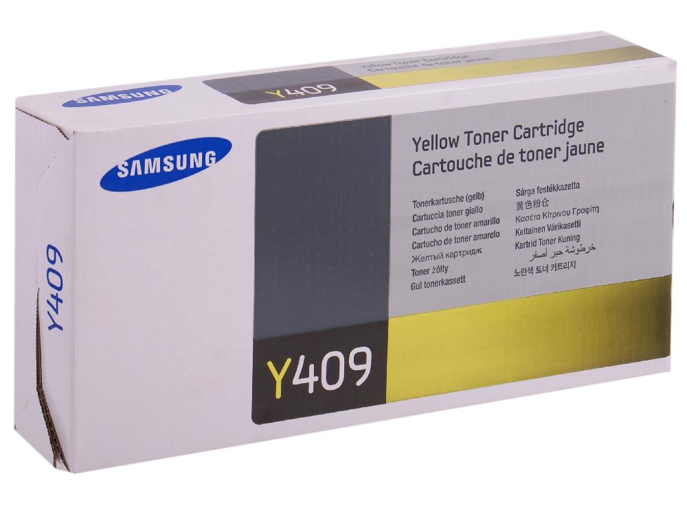 Картридж Samsung CLT-Y409S/SEE кобура кобура gletcher поясная для clt 1911