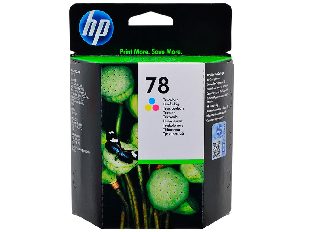 Картридж HP C6578A (№78) цветной DJ930/950/959/970/980/990/1220 цена 2017