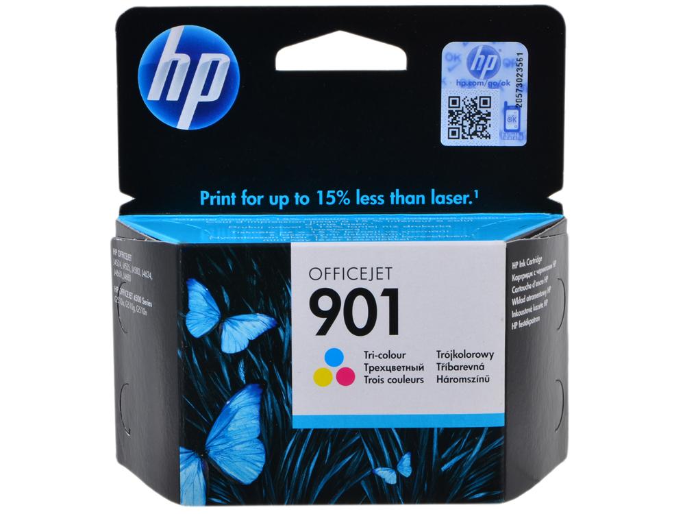 Картридж HP CC656AE (№ 901) цветной OJ4580 картридж hp 901 многоцветный [cc656ae]