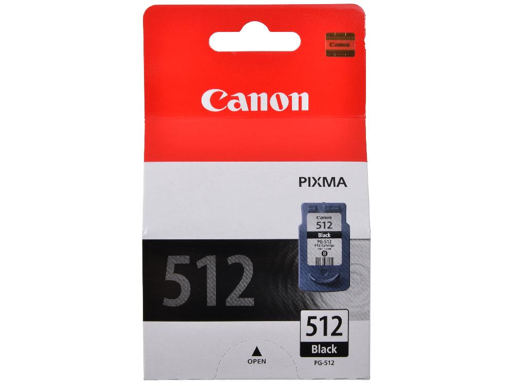Картридж Canon PG-512 для PIXMA MP260. Чёрный. 401 страница.