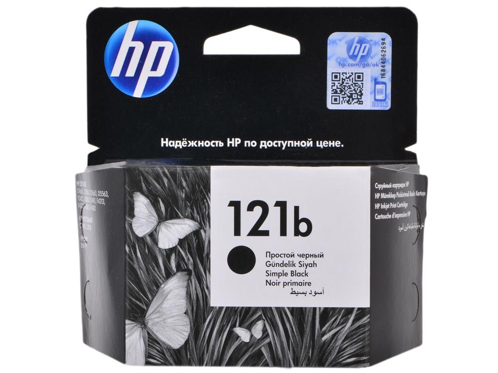 Картридж HP CC636HE (№121B) простой, черный