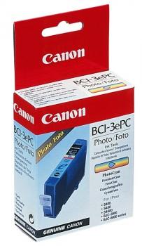 Фоточернильница Canon BCI-3PC для BJС-3000/6000/6100/6200/6500//S400/450/4500. Голубая. 280 страниц. картридж canon bci 3epm для bjc 3000 s400 6000 6100 6200 6200s светло пурпурный