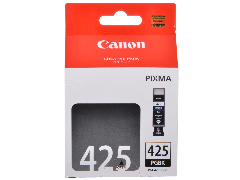 Картридж Canon PGI-425PGBK для iP4840, MG5140, MG5240, MG6140, MG8140 . Чёрный. 344 страниц. картридж colouring cg cli 426m magenta для canon ip4840 mg5140 mg5240 mg6140 mg8140