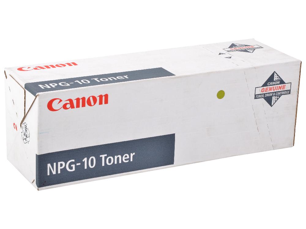 цена на Тонер Canon NPG-10 для NP 6050 / 6750. Чёрный. 30 000 страниц.