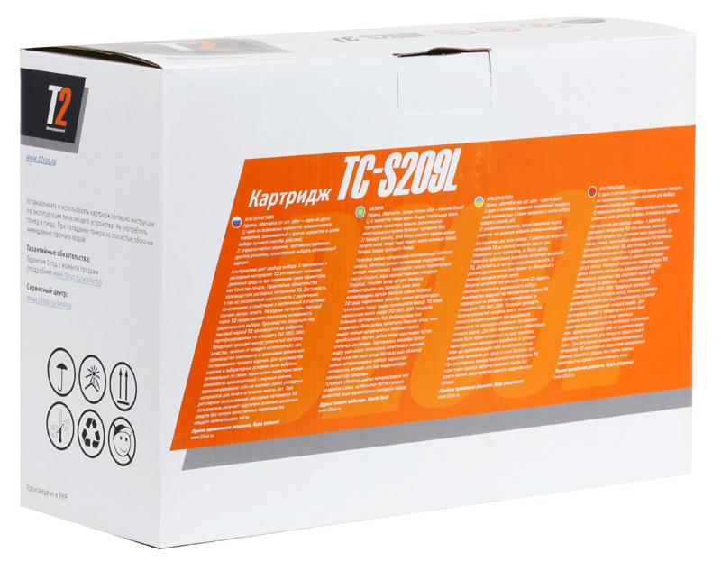 Картридж T2 TC-S209L (с чипом) картридж t2 для hp tc h85a laserjet p1102 1102w pro m1132 m1212nf m1214nfh canon i sensys lbp6000 cartrige 725 1600 стр с чипом