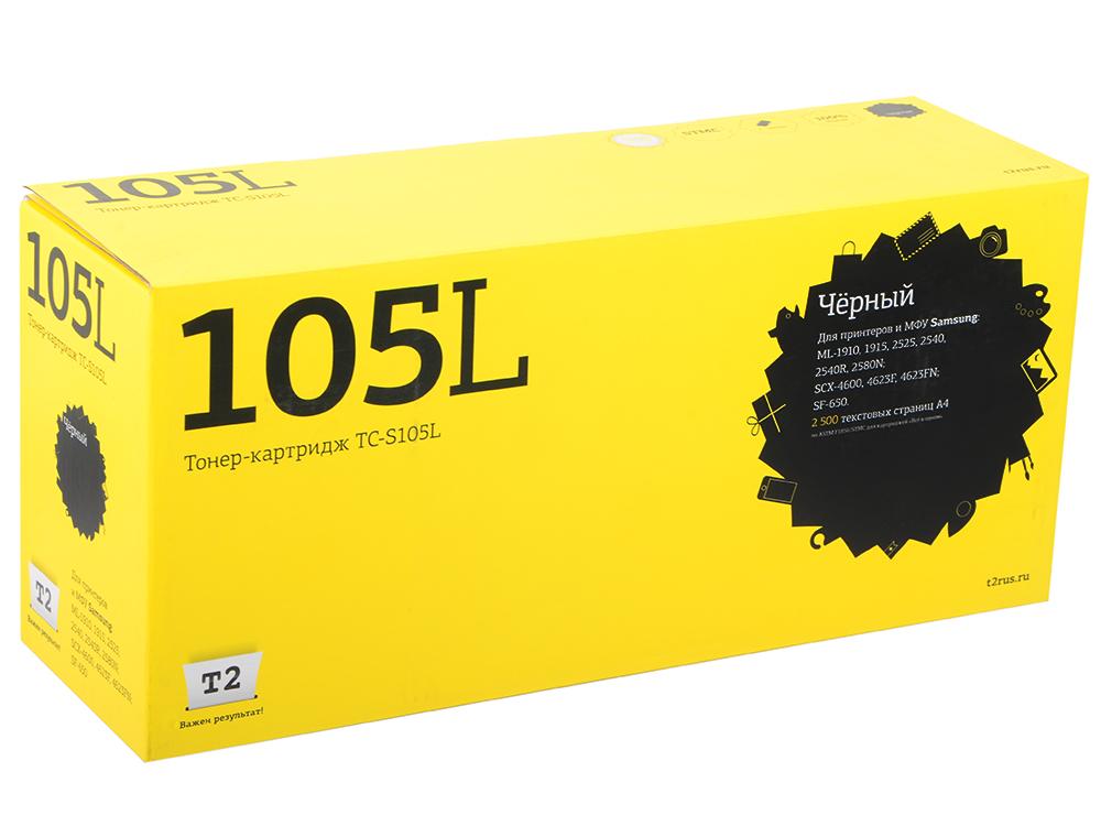 Картридж T2 для Samsung TC-S105 (105L) картридж t2 tc c041h черный