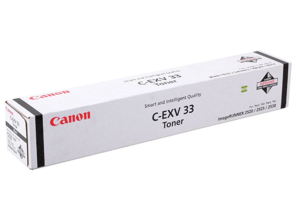 Тонер-картридж Canon C-EXV33 для iR2520, iR2520i, iR2525, iR2525i, iR2530, iR2530i. Чёрный. 14600 страниц. canon c exv33 black