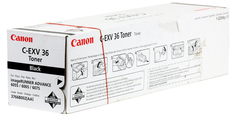 Тонер-картридж Canon C-EXV36 для iR 6055/iR 6065/iR 6075. Чёрный. 56000 страниц. 1000pcs 5mm infrared receiver diode ir led 940nm