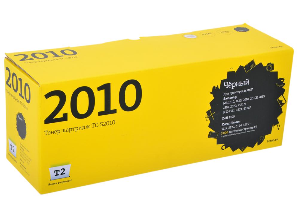 Картридж T2 для Samsung TC-S2010 Samsung ML-1610/1615/2010/SCX-4321/4521F/Xerox Phaser 3117/3122 (3000 стр.) Аналог ML-2010D3 картридж cactus cs s4521 для принтеров samsung scx 4521f 4321 3000 стр