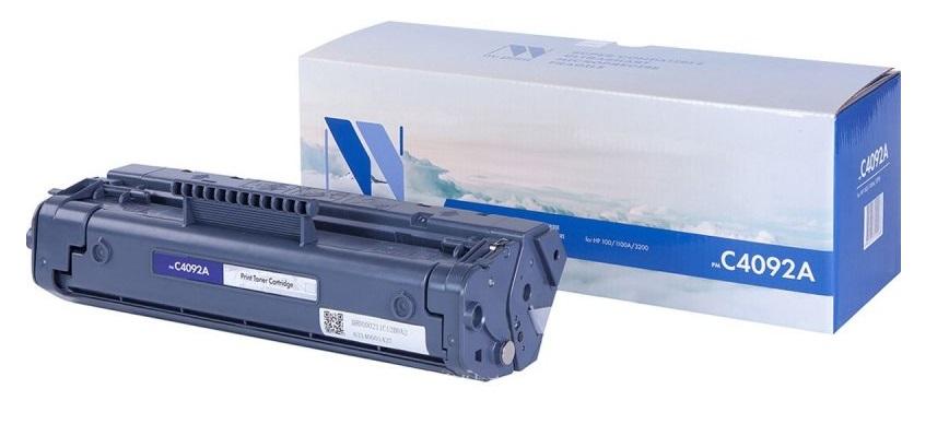 все цены на  Картридж NV Print для HP  LJ  1100/1100A/3200   C4092A  онлайн