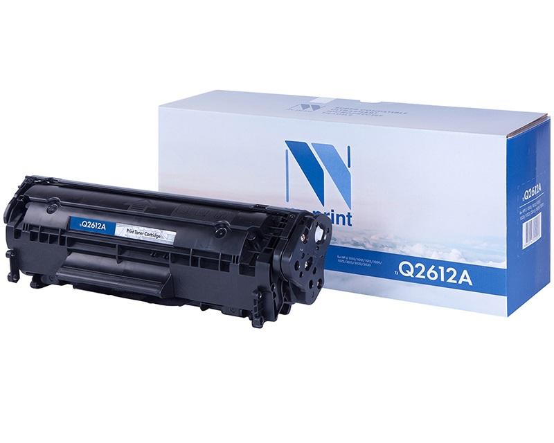 Картридж NV Print для HP LJ 1010/1012/1015/1020/1022/3015/3020/3030 Q2612A