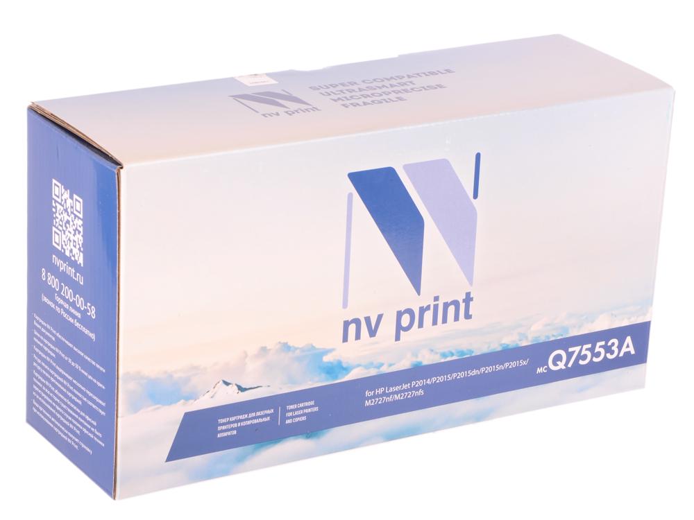 Картридж NV Print для HP LJ P2015 Q7553A картридж для принтера nv print для hp cf403x magenta