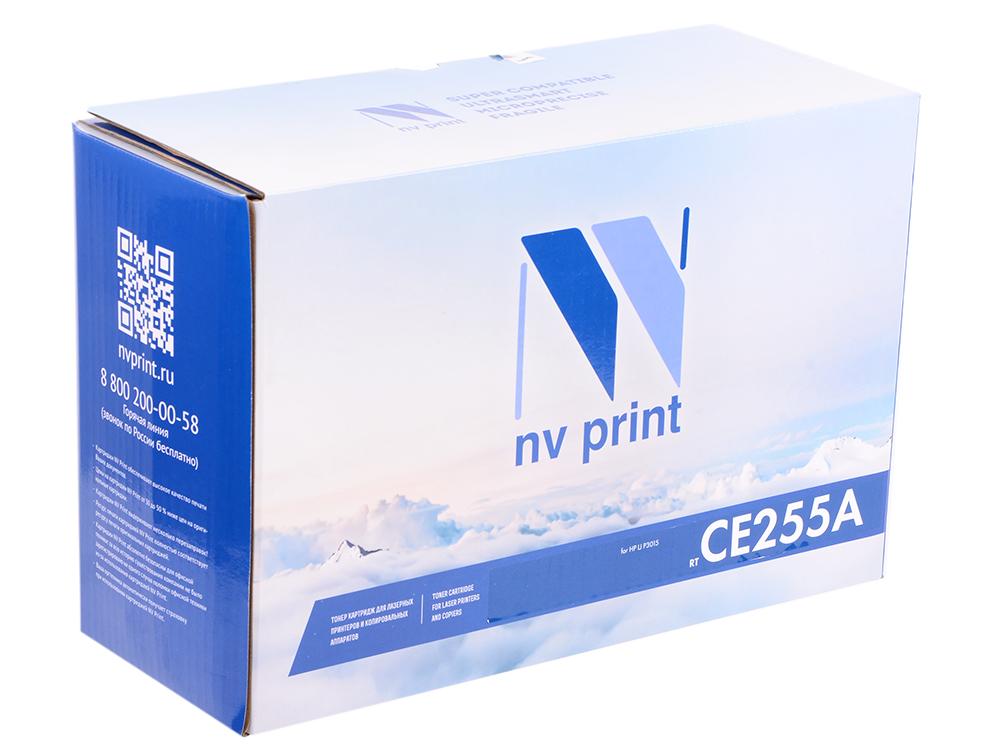 Картридж NV Print для HP LJ Р3015 CE255A картридж для принтера nv print для hp cf403x magenta