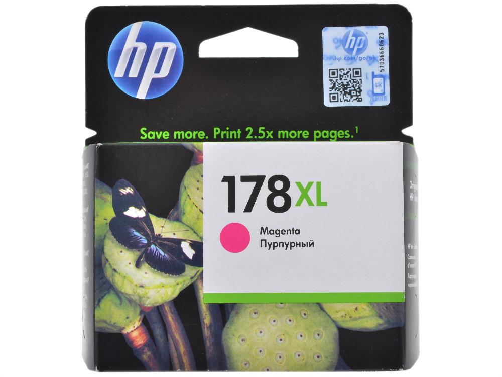 Картридж HP CB324HE (№ 178XL) пурпурный, PS C5383/C6383/D5463 cb xl 029 светильник конус настенный перламутр металл