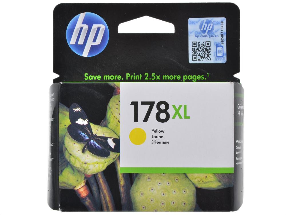 Картридж HP CB325HE (№ 178XL) желтый, PS C5383/C6383/D5463 cb xl 029 светильник конус настенный перламутр металл