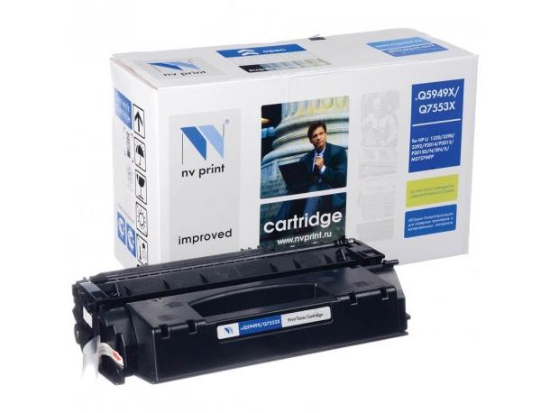 Картридж NV Print для HP  LJ P2015  Q7553X картридж nv print совместимый hp ce390x для lj m4555 24000k