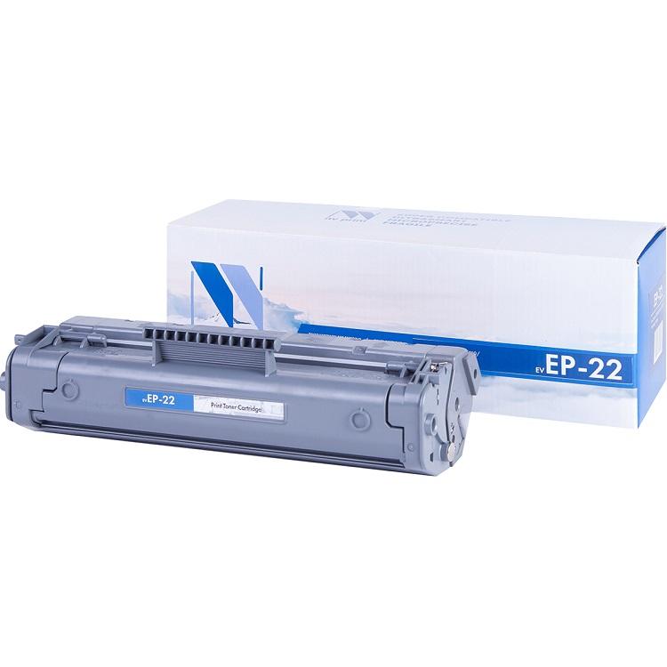 Картридж NV-Print совместимый Canon EP-22 для LBP-800/810/1120, HP LJ 1100/1100A. Чёрный. 2500 страниц. canon ep 22 black картридж для для laser shot lbp 1120 800 810