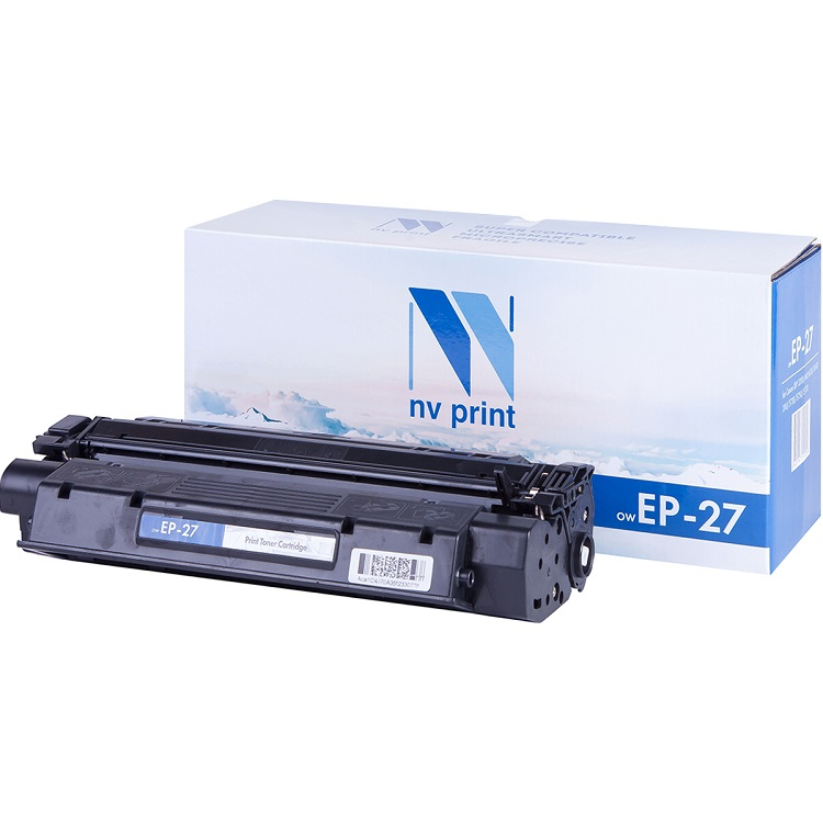 Картридж NV-Print совместимый Canon EP-27 для LBP 3200/MF5630/5650/3110/5730/5750/5770. Чёрный. 2500 страниц. картридж nv print совместимый canon ep 22 для lbp 800 810 1120 hp lj 1100 1100a чёрный 2500 страниц