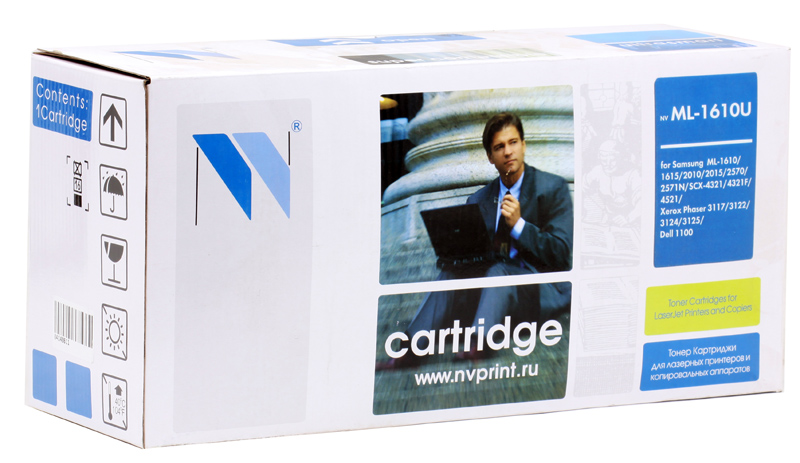 Картридж NV-Print совместимый Samsung ML-1610 для ML 1610/2010/2015/4321/Xer 3117/3124 Чёрный. 3000 страниц. стоимость