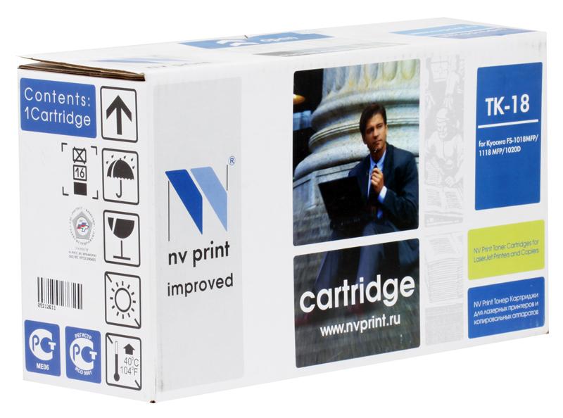 Тонер-картридж NV-Print совместимый с TK18 для Kyocera FS1020D цена и фото