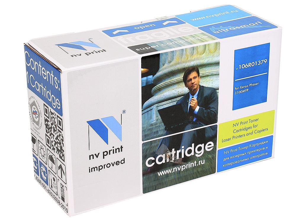Картридж NV-Print совместимый Xerox для  Phaser 3100MFP. Чёрный. 6000 страниц. (106R01379) картридж xerox 106r01379