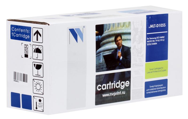 Картридж NV Print совместимый с Samsung MLT-D105S для ML-1910 картридж nv print совместимый с samsung mlt d105s для ml 1910