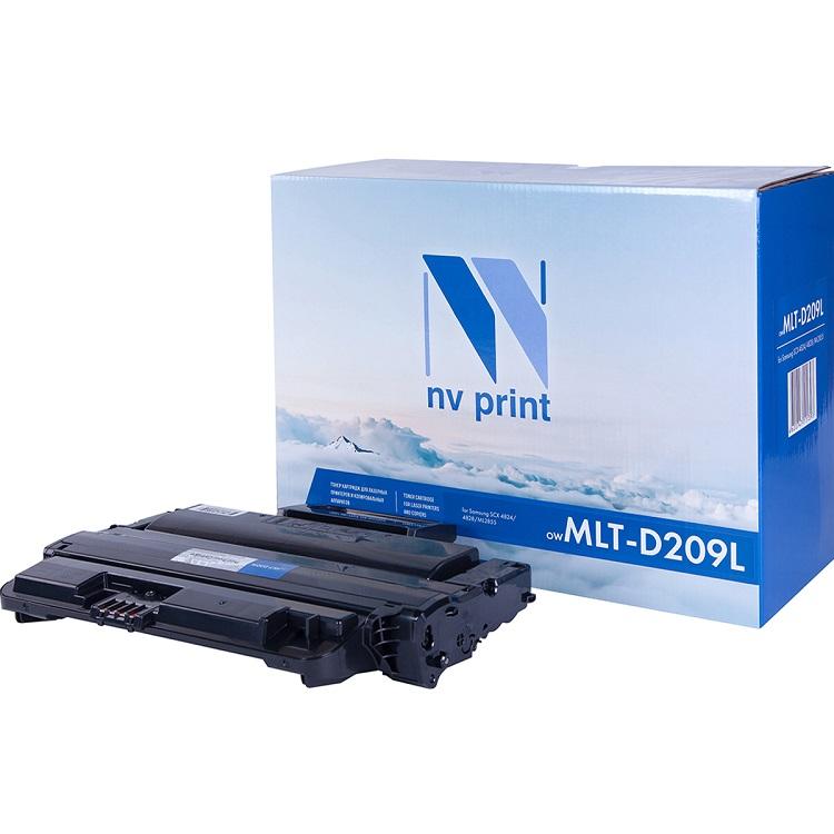 Картридж NV-Print совместимый Samsung MLT-D209L для ML-2855ND/SCX-4824FN/4828FN. Чёрный. 5000 страниц original laser printer main board for samsung ml 2855nd ml 2855 ml 2855nd 2855 ml2855 formatter board mainboard logic board