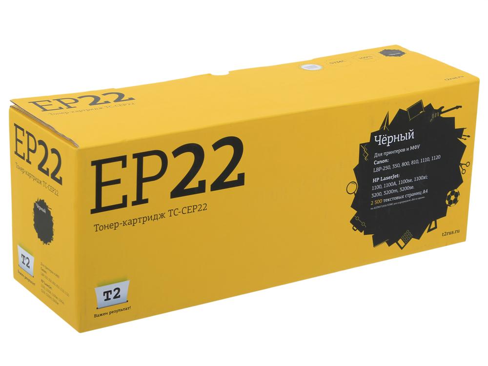 Картридж T2 TC-CEP22 картридж t2 tc b2275 черный