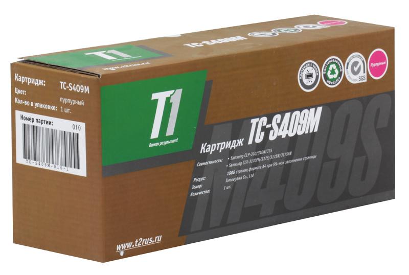 Картридж T2 TC-S409M T1 Magenta (с чипом) картридж для принтера t2 tc hcf413a с чипом purple