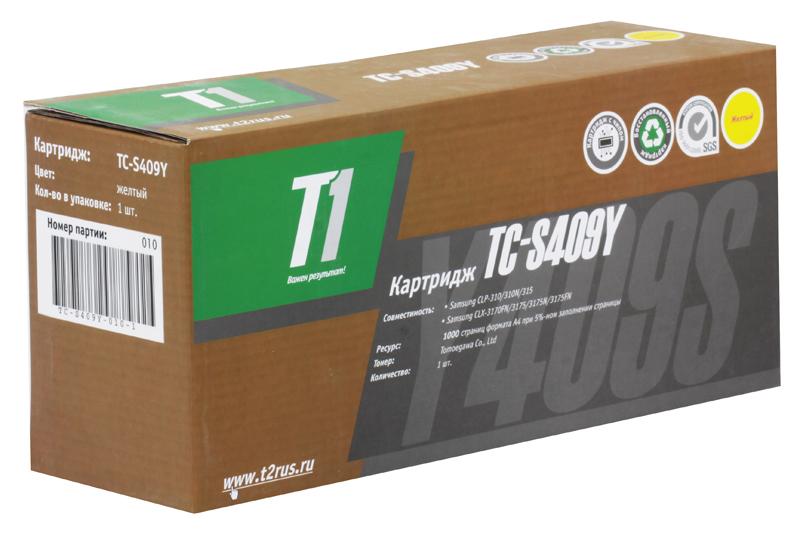 Картридж T2 TC-S409Y T1 Yellow (с чипом) картридж для принтера t2 tc hcf413a с чипом purple